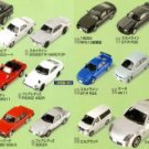 Furuta Choco Egg Series Nissan Miniature Car Model Vol. 1 Set of 21