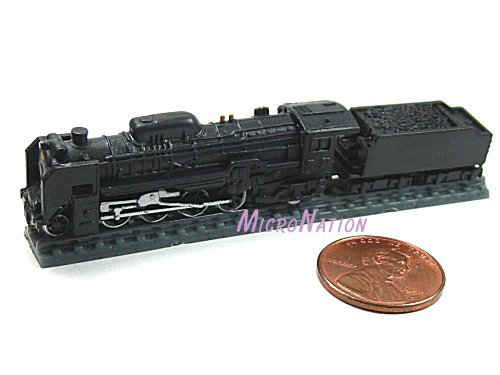 Furuta Choco Egg Series SL Train Vol. 1 Miniature Model #07 1:250 D51 Series No. 498