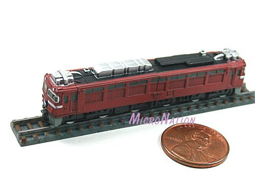 Furuta Choco Egg Series SL Train Vol. 1 Miniature Model #12 1:290 EF81 Series Sea of Japan