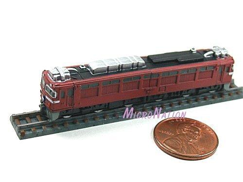 Furuta Choco Egg Series SL Train Vol. 1 Miniature Model #12 1:290 EF81 Series Sea of Japan