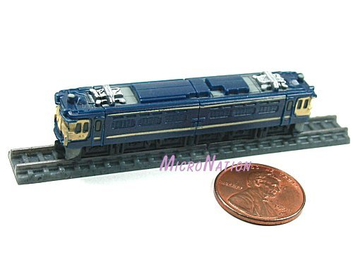Furuta Choco Egg Series SL Train Vol. 1 Miniature Model #14 1:280 EF65 Series Bullet Train Milky Way