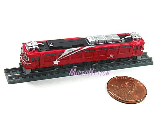 Furuta Choco Egg Series SL Train Vol. 1 Miniature Model #16 1:290 EF81 Series Hokutosei