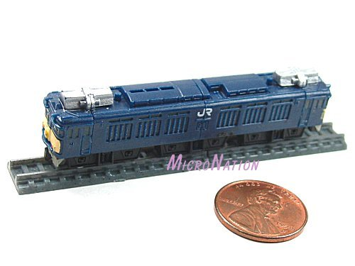 Furuta Choco Egg Series SL Train Vol. 1 Miniature Model #17 1:290 EF64 Series Hokuriku