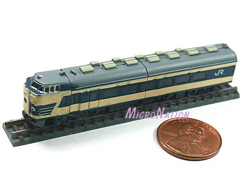 Furuta Choco Egg Series SL Train Vol. 1 Miniature Model #19 1:270 583 Series Hakutsuru