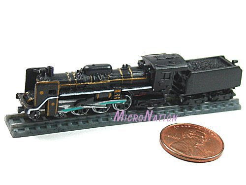 Furuta Choco Egg Series SL Train Vol. 1 Miniature Model #S1 1:270 C57 Series No. 1 2C1 Type