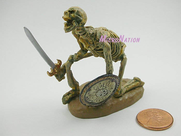 Furuta Ray Harryhausen #07 Skeleton Warrior B Miniature