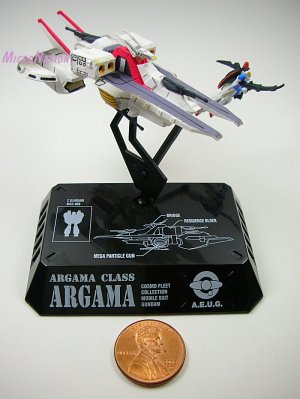 MegaHouse Cosmo Fleet Gundam 3 #1 AEUG Argama MSZ-006