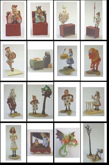 Furuta Alice in DollLand (Full set of 16) miniature figures