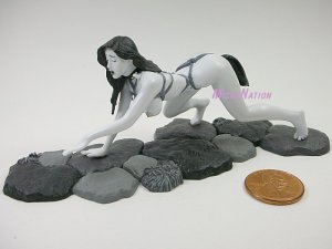 #BW05 Eropon Adult Figure Collection 2 Sexy SM Bondage Miniature Figure Black & White Version