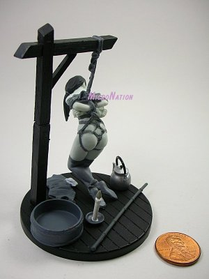 #MT04 Eropon Adult Figure Collection 3 Sexy SM Bondage Miniature Figure Black & White Version