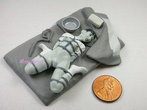 #MT07 Eropon Adult Figure Collection 3 Sexy SM Bondage Miniature Figure Black & White Version
