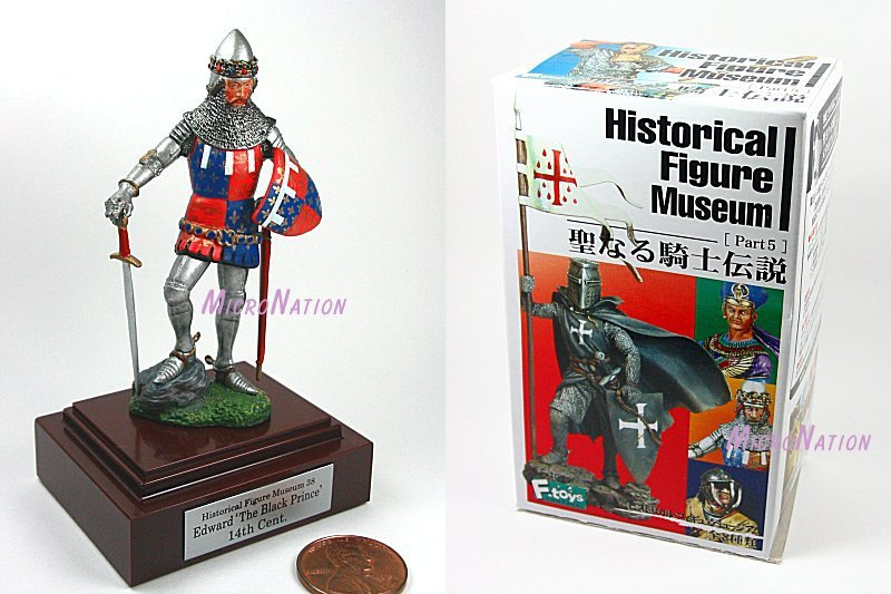 F-toys confect. Historical Figure Museum Part 5 Warrior #38 Edward 'The Black Prince' 14th Century