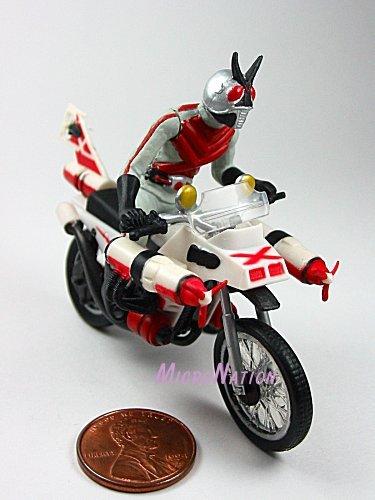 Bandai Rider Machines Chronicle Best Gashapon Figure - Cruiser (Kamen Rider X)