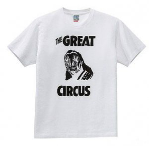 UNIQLO T-SHIRT CAPTIVE QUEEN GREAT CIRCUS TOMO GOKITA M tokyobaron.com