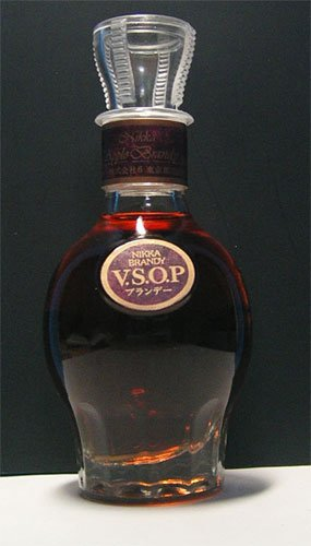 NIKKA BRANDY VSOP Japanese Whiskey 50 ml miniature