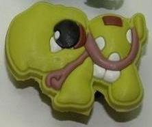 Set of 2 Littlest Pet Shop Croc Shoe Charms Turtle