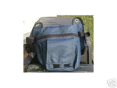 """Bicycle BAG goes on handlebar or seat 7"""" x 6"""" x 3.  bags .....S&H  is $2.85 or $1.25"""