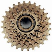 FREEWHEEL for 6, 12, or 18-speed bicycle NEW ... S&H is $7.50 or $3.75