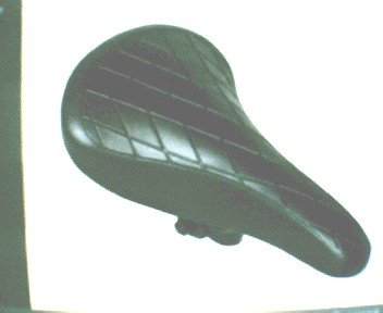 "Padded SEAT for bicycle 6"" x 10 1/4 "" Color black  .... S&H is $6.95 or $3.50"