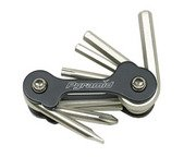 Multi Tool, 9 function. Folding design. Hex and torx, screwdrivers.....S&H is $3.95 or $1.95