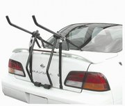 3-Bike Trunk Mount Car Rack for bicycles, bicycle.  Fully assembled, folds.