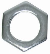Lock nut for 1-piece bicycle crank. USED. 24 threads per inch.  S&H is $2.25 or $0.95