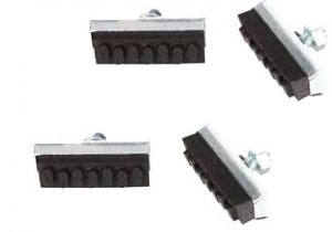 2 Pair Bicycle Sidepull Caliper brake shoes .... S&H is $3.90 or $1.95