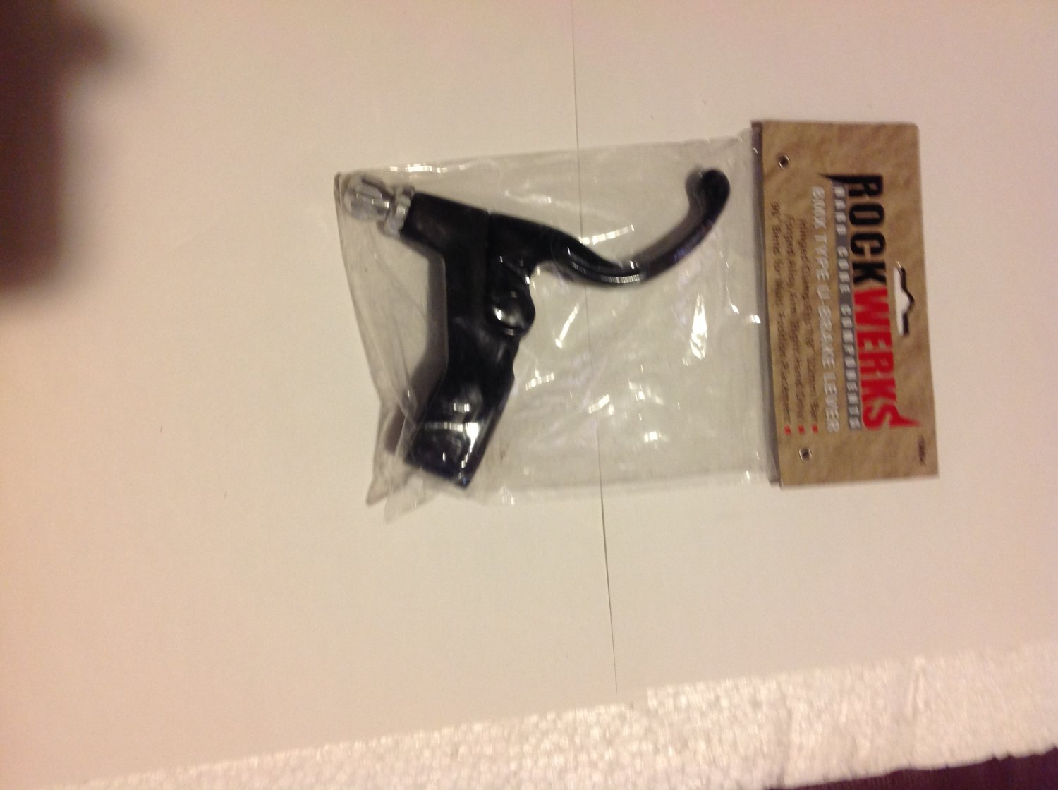 Right BRAKE LEVER for BMX or Freestyle bicycle.  S&H is $3.95 or $1.95