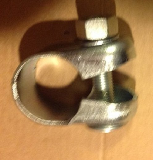 """Steel Seat Post CLAMP for bicycle, 1"""" diameter. NEW OLD STOCK  ... S&H is $2.95 or $1.50"""