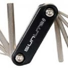Multi Tool, 8 function. Folding design.  Hex wrenches; Screwdrivers.....S&H is $3.95 or $1.95