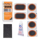 PATCH KIT for ROAD bicycle tube. 6 patches, glue, scuffer .... S&H is $2.80 or $0.75