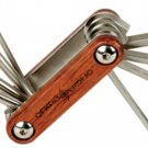 Multi Tool, 8 function. Folding design. Wood handle .... S&H is $3.95 or $1.95