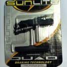 2 SHOES, low profile,  for bicycle CANTILEVER BRAKE...NEW IN PKG. .... S&H is $2.95 or $1.25