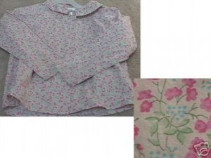 Girls BABY GAP Floral Blouse 5XL 5