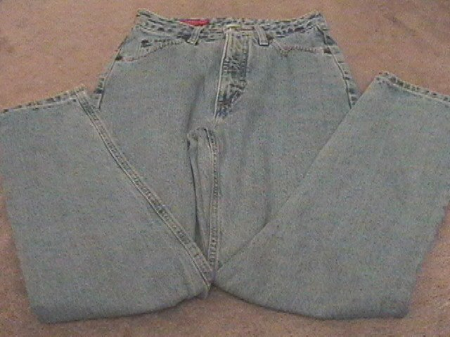 Ladies BANANA REPUBLIC ACID WASHED Jeans 4 Reg
