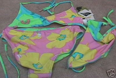 Girls SPEEDO Reversible Floral Print Bikini 14 NEW NWT Item number: 250207939517