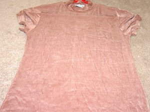 Ladies WESTERN CONNECTION Brown Stretch Top M 8 10