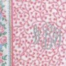Vera Bradley RETIRED PINK PATTERN Rose Garment Bag Beautiful
