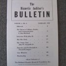 Vol 1 No 8 Hubbard Feb 1951 Scientology Dianetics Auditors Bulletin Booklet Pamphlet