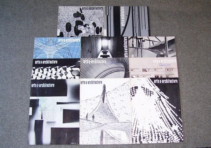 Vintage 1966 ARTS AND ARCHITECTURE Magazine Lot 11 Issues