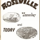 Roseville CA California Yesterday And Today 1st Edition 1975 Book 1000 Copies Leonard M. Davis