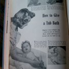 1946 Vintage Better Homes And Gardens Baby Book Boy Blue