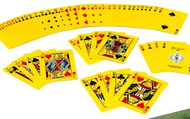 The Yellow Deck Playing Cards