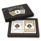 Bicycle Gold and Silver Back Playing Card Set