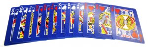 The Blue Ice Deck Playing Cards