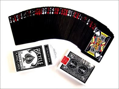 The Black Deck Playing Cards