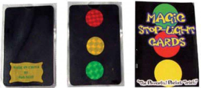 Magic Stop Light Cards