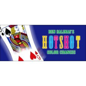 Hot Shot Color Changes Card Moves with Ben Salinas 2 DVD Set, Magic Trick Instruction