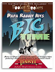 Papa Rabbit Hits the Big Time w/DVD (by Daryl)