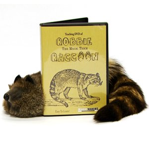 "Robbie ""The Magic Trick"" Raccoon (with Instructional DVD)"